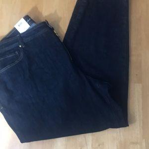 iNC Skinny Tummy Control Jeans NWT 28 W